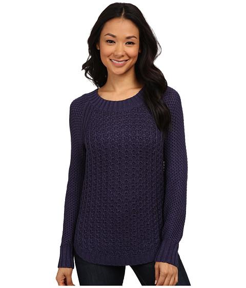 Calvin Klein Jeans - Core Texture Mixed Crew (Patriot Blue) Women's Sweater