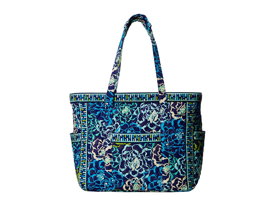 Vera Bradley Luggage - Get Carried Away Tote (Katalina Blues) Carry on Luggage