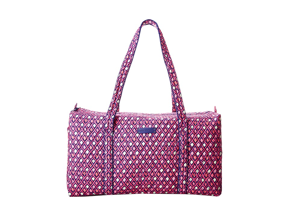 Vera Bradley Luggage - Large Duffel (Katalina Pink Diamonds) Duffel Bags