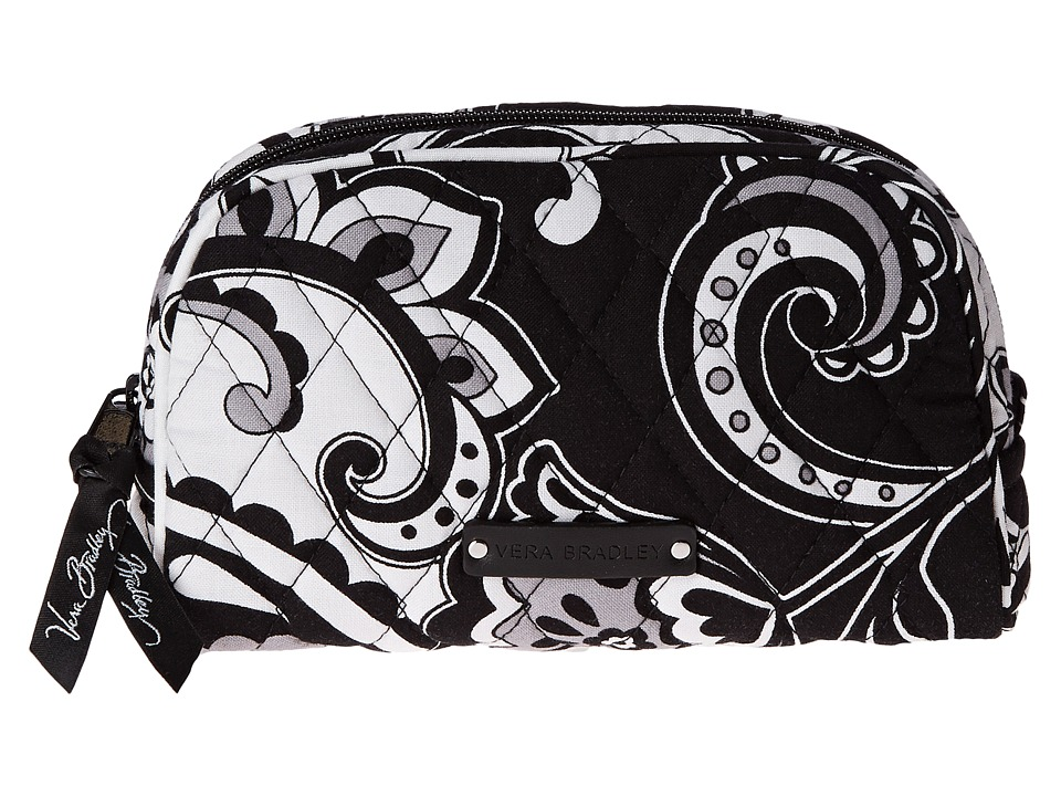 Vera Bradley Luggage - Small Zip Cosmetic (Midnight Paisley) Cosmetic Case