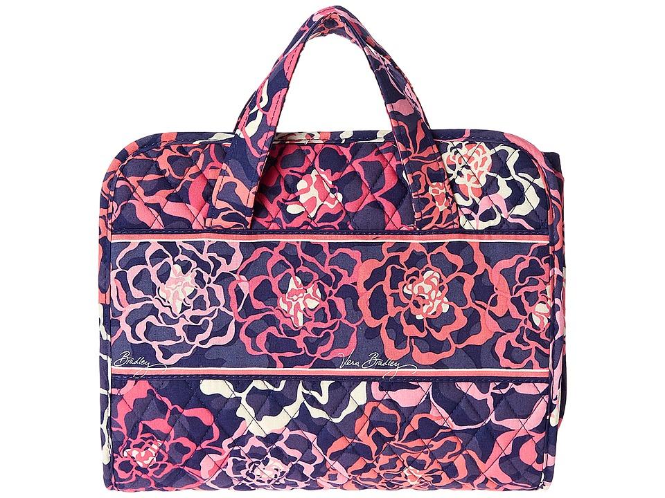 Vera Bradley Luggage - Hanging Organizer (Katalina Pink) Toiletries Case