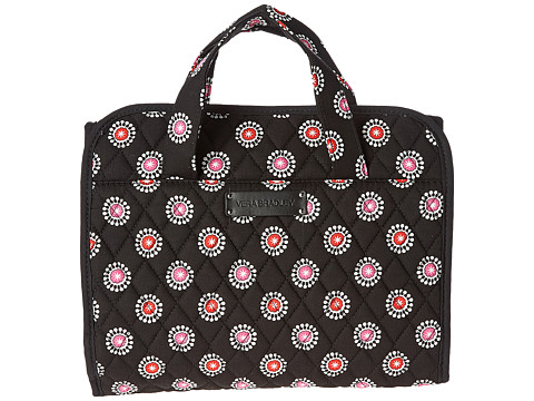 Vera Bradley Luggage - Hanging Organizer (Parisian Pom Poms) Toiletries Case