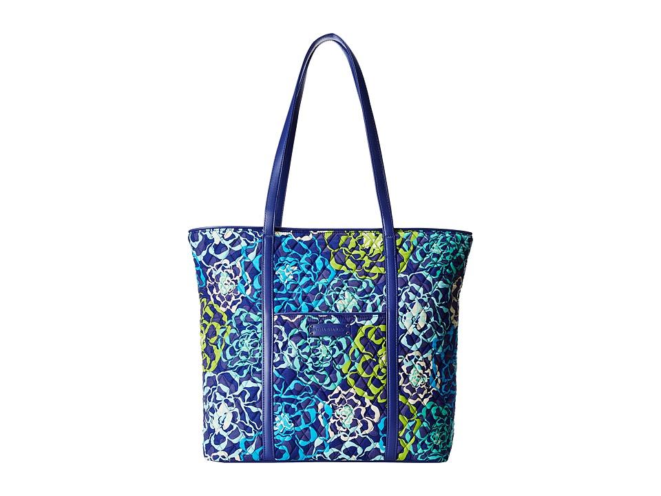 Vera Bradley Luggage - Trimmed Vera (Katalina Blues/Navy) Tote Handbags