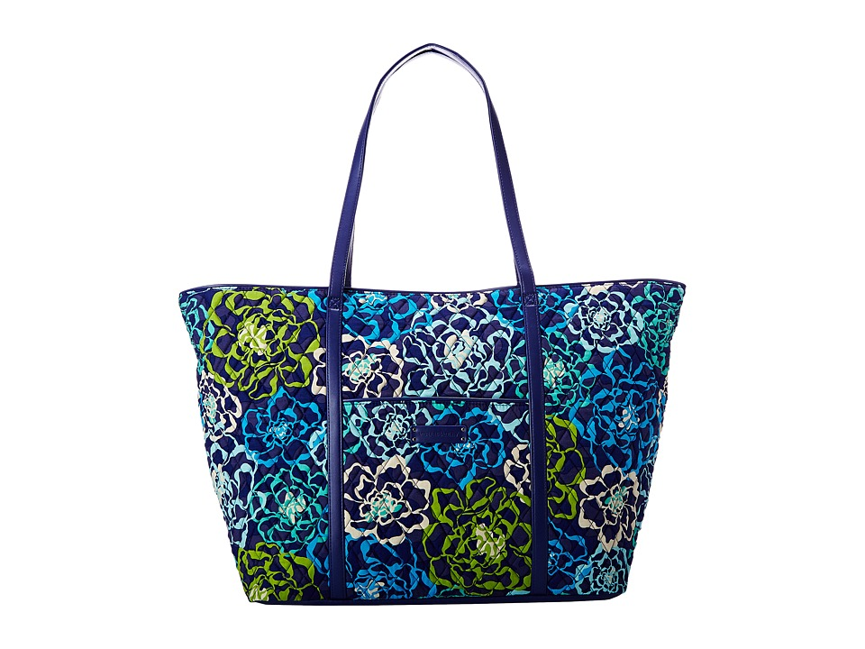 Vera Bradley Luggage - Trimmed Vera Traveler (Katalina Blues/Navy) Luggage