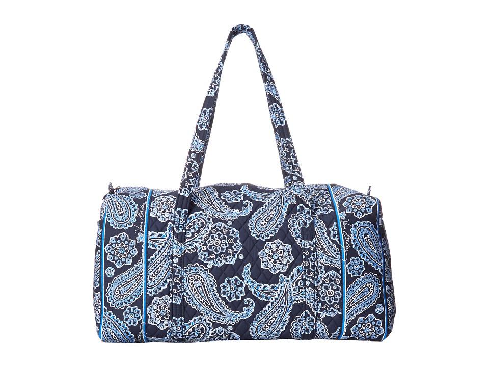 Vera Bradley Luggage - Large Duffel (Blue Bandana) Duffel Bags