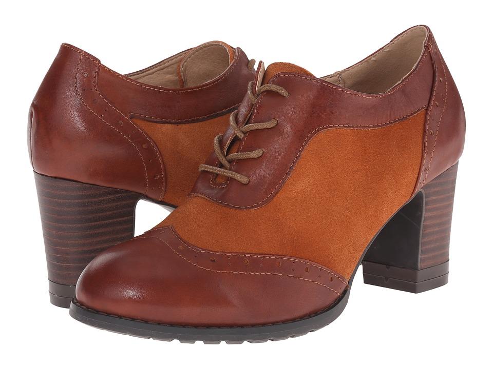 Spring Step - Mathilde (Camel) Women's Shoes