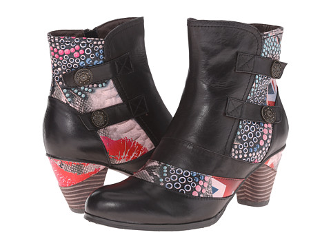 Spring Step - Kiera (Black Multi) Women