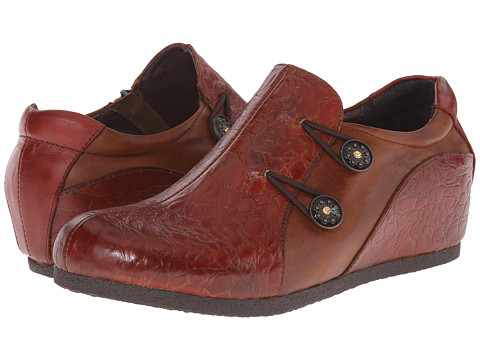 Spring Step - Cranberry (Camel) Women's Shoes