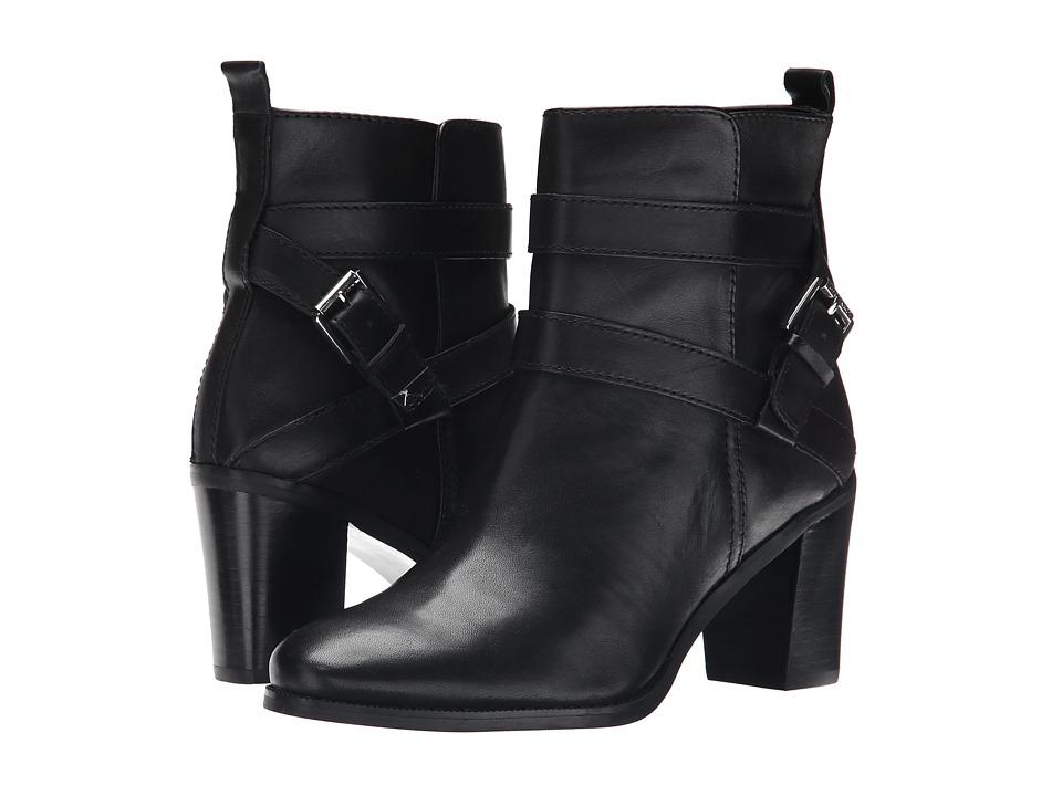 LAUREN Ralph Lauren - Cassy (Black Burnished Vachetta) Women's Zip Boots