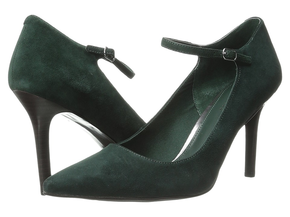 LAUREN by Ralph Lauren - Sage (Green Gable Kid Suede) Women's 1-2 inch heel Shoes