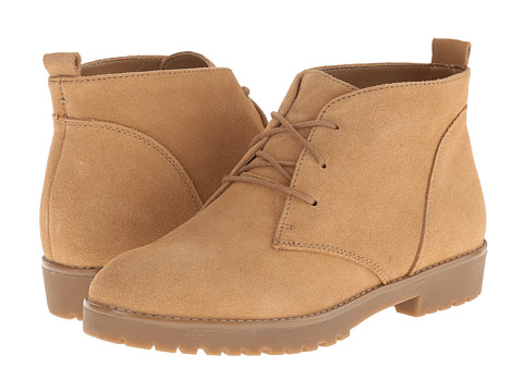 LAUREN by Ralph Lauren - Malva (Camel Sport Suede) Women's Lace-up Boots