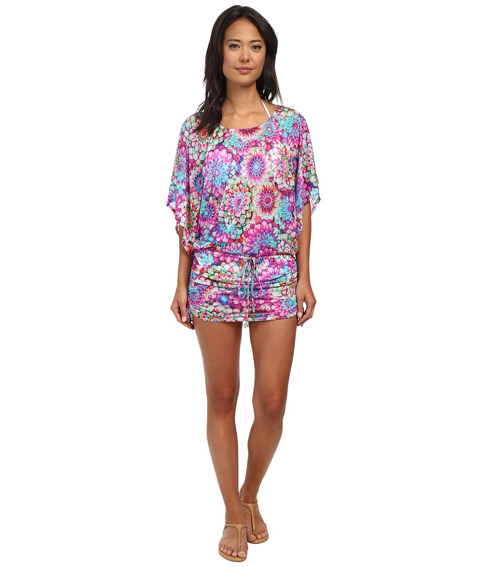 Luli Fama - Sol Brillante South Beach Dress Cover-Up (Multicolor) Women's Swimwear
