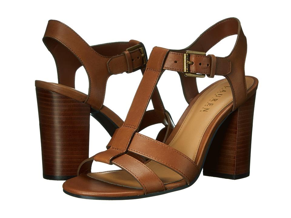 LAUREN Ralph Lauren - Torie (Polo Tan Burnished Vachetta) Women's 1-2 inch heel Shoes