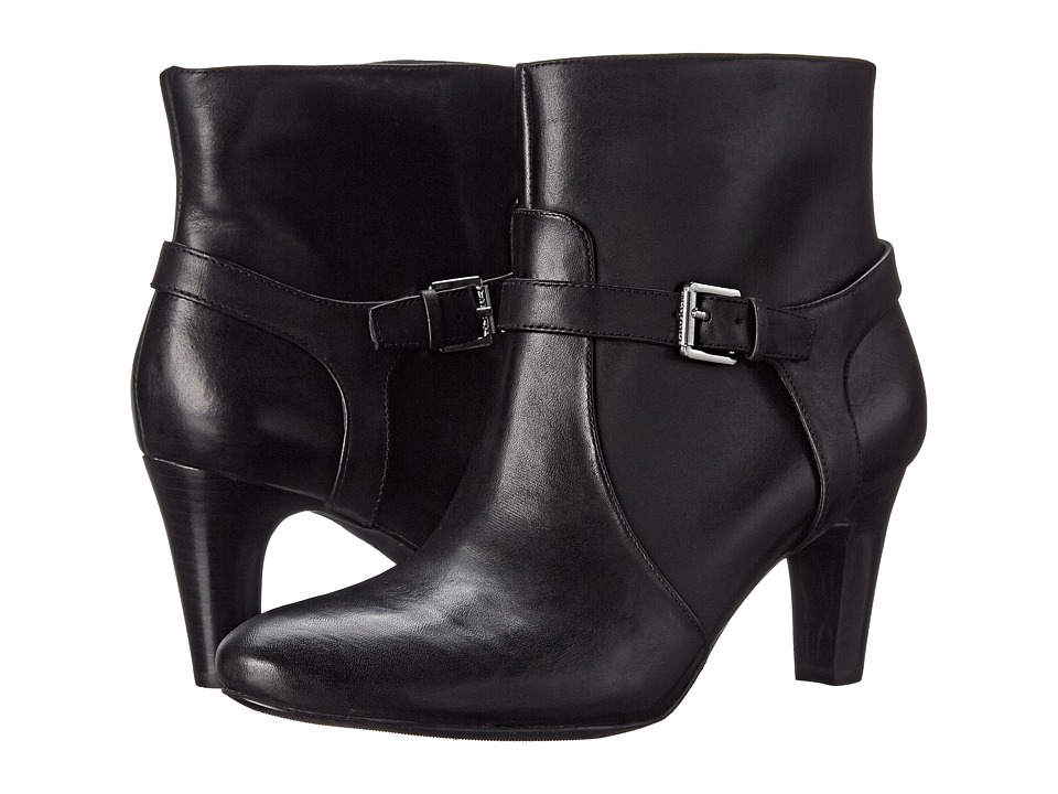 LAUREN Ralph Lauren - Saida (Black Burnished Calf) Women's Shoes
