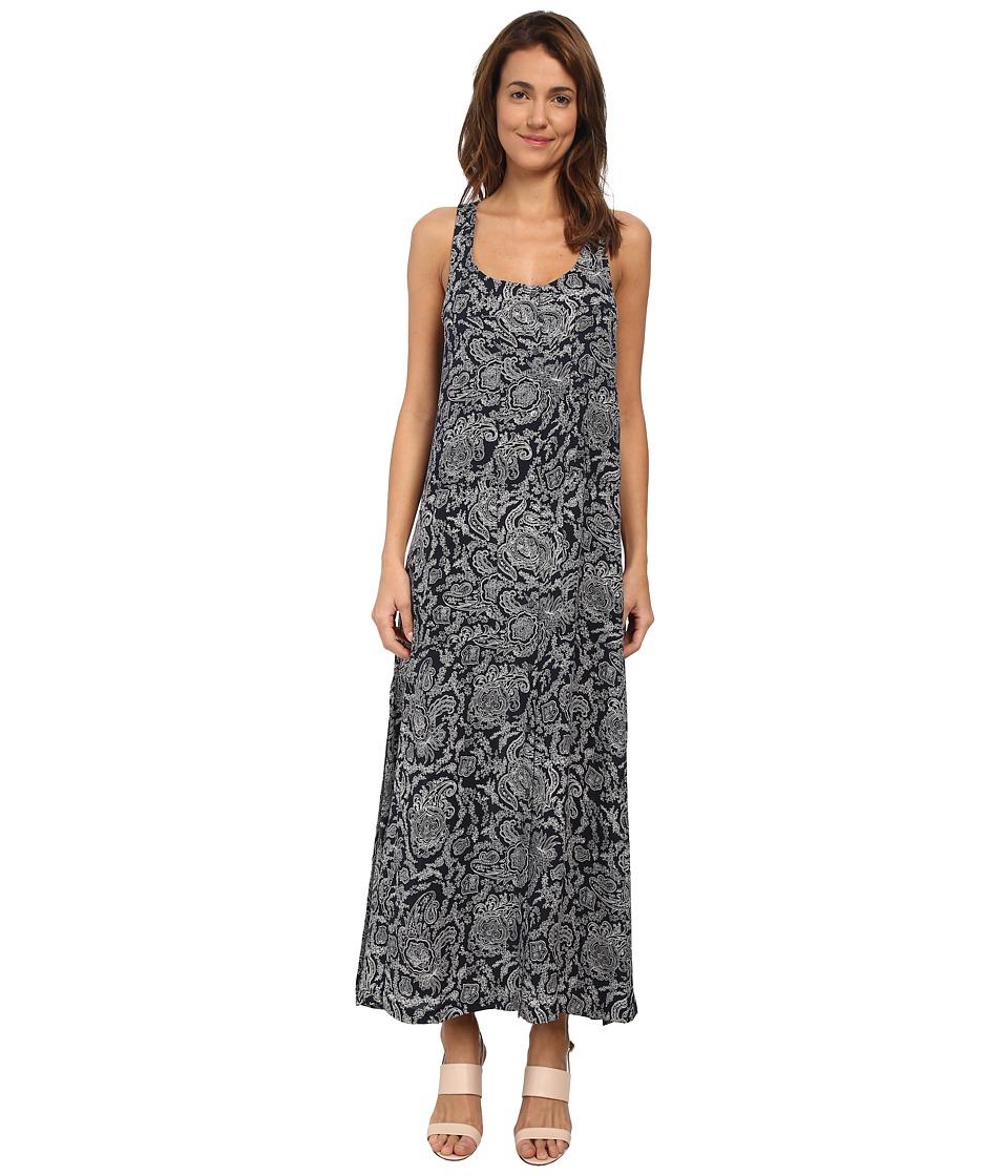 Theory - Coruna Dress (Light Navy/Ivory) Women's Dress