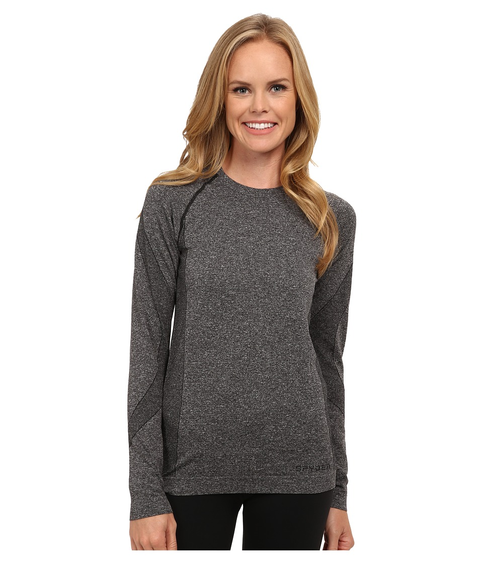 Spyder - Runner Long Sleeve Top (Black) Women's Long Sleeve Pullover