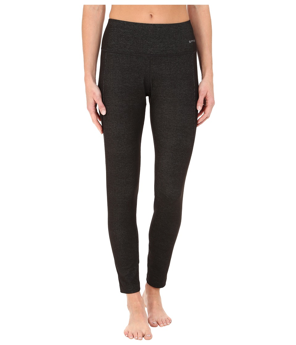 Spyder - Athlete T-Hot Wool Pants (Black/Black) Women