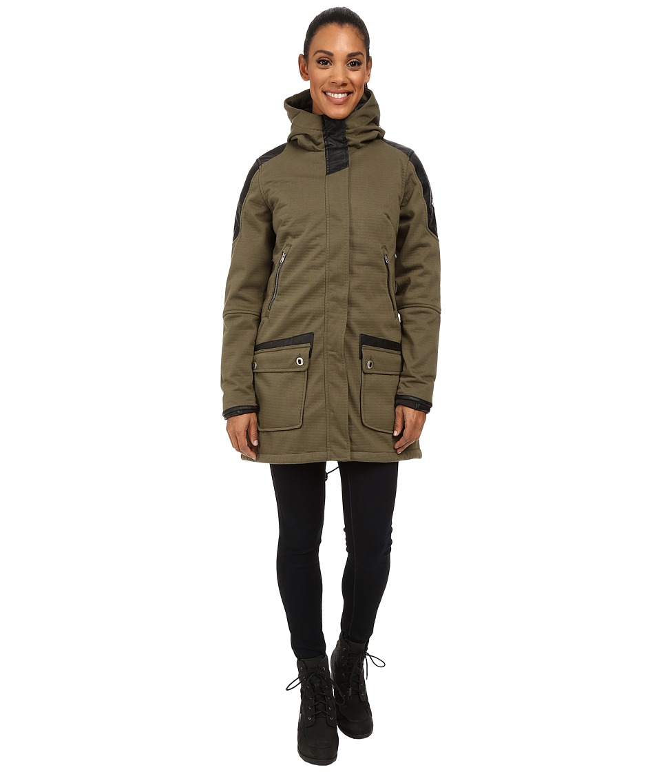 Spyder - Helix No Fur 321 Parka (Guard/Black) Women's Coat