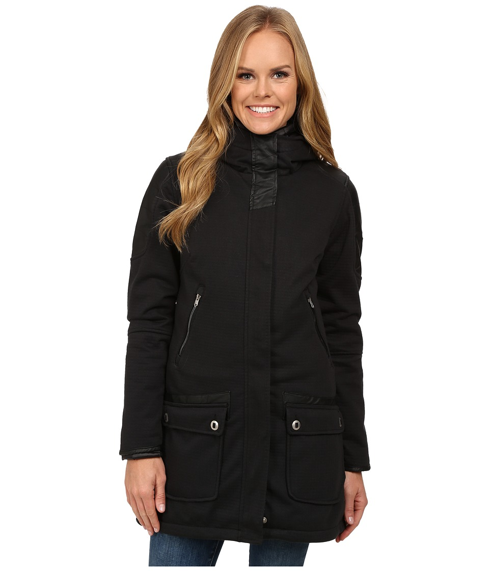 Spyder - Helix No Fur 321 Parka (Black/Black) Women's Coat