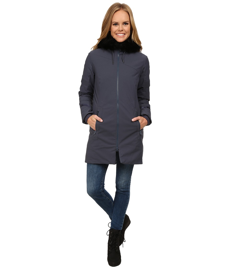 Spyder - Lumyn Faux Fur Synthetic Down Jacket (Depth) Women's Coat