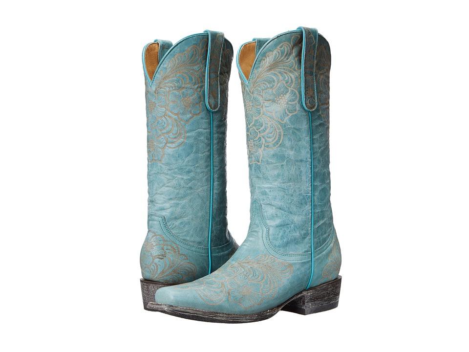 Old Gringo - LS Elsa (Aqua) Cowboy Boots
