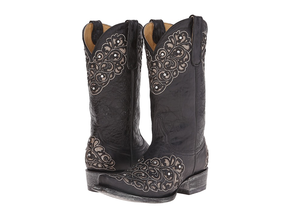 Old Gringo - Freesia (Black) Cowboy Boots