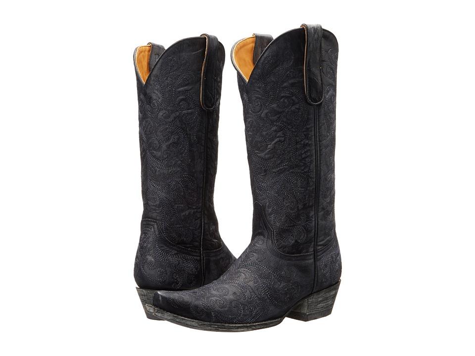 Old Gringo San Saba (Blue) Cowboy Boots