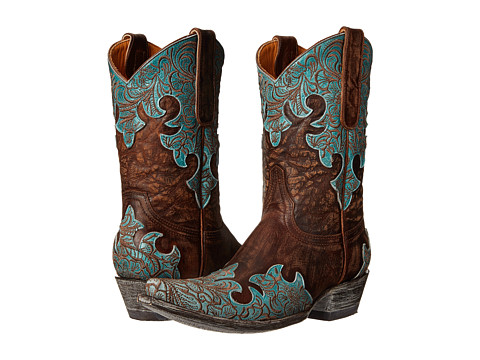 Old Gringo - Kloty 10 (Brass/Blue) Cowboy Boots