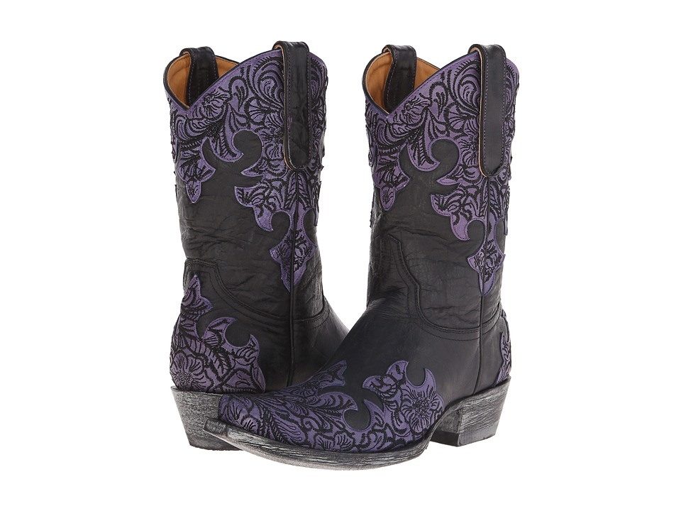 Old Gringo - Kloty 10 (Black/Violet) Cowboy Boots