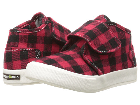 Morgan&Milo Kids - Tucker Chukka HL (Toddler/Little Kid) (Red Check) Boys Shoes