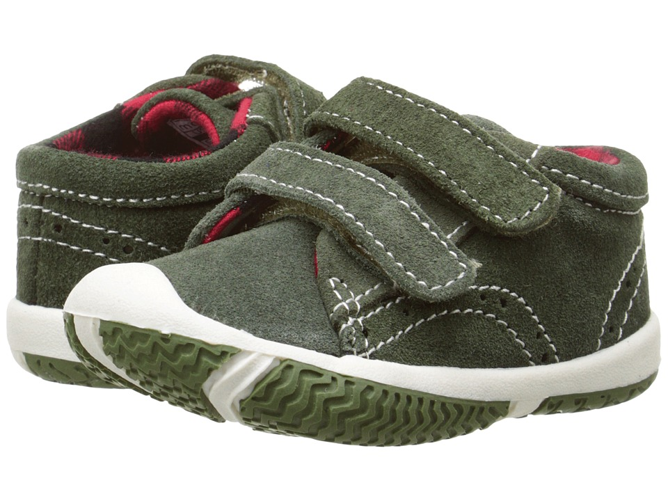 Morgan&Milo Kids - Ross HL (Toddler) (Green Putty) Boys Shoes