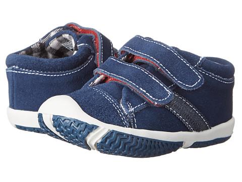 Morgan&Milo Kids - Hudson Double V (Toddler) (Brave Navy) Boys Shoes