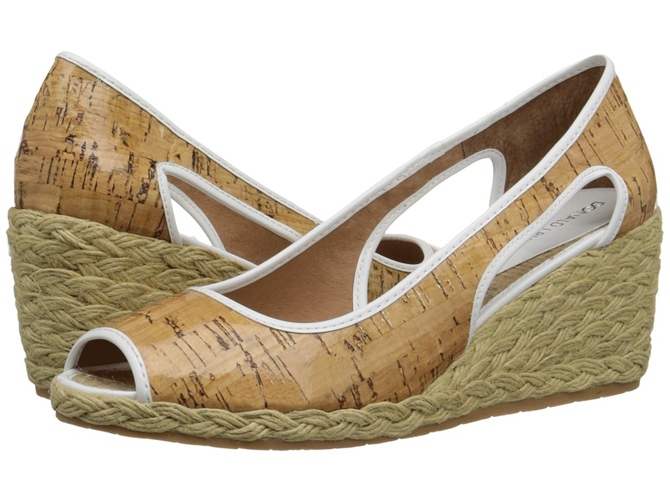 Donald J Pliner - Charlot (Natural Patent Cork) Women's Wedge Shoes