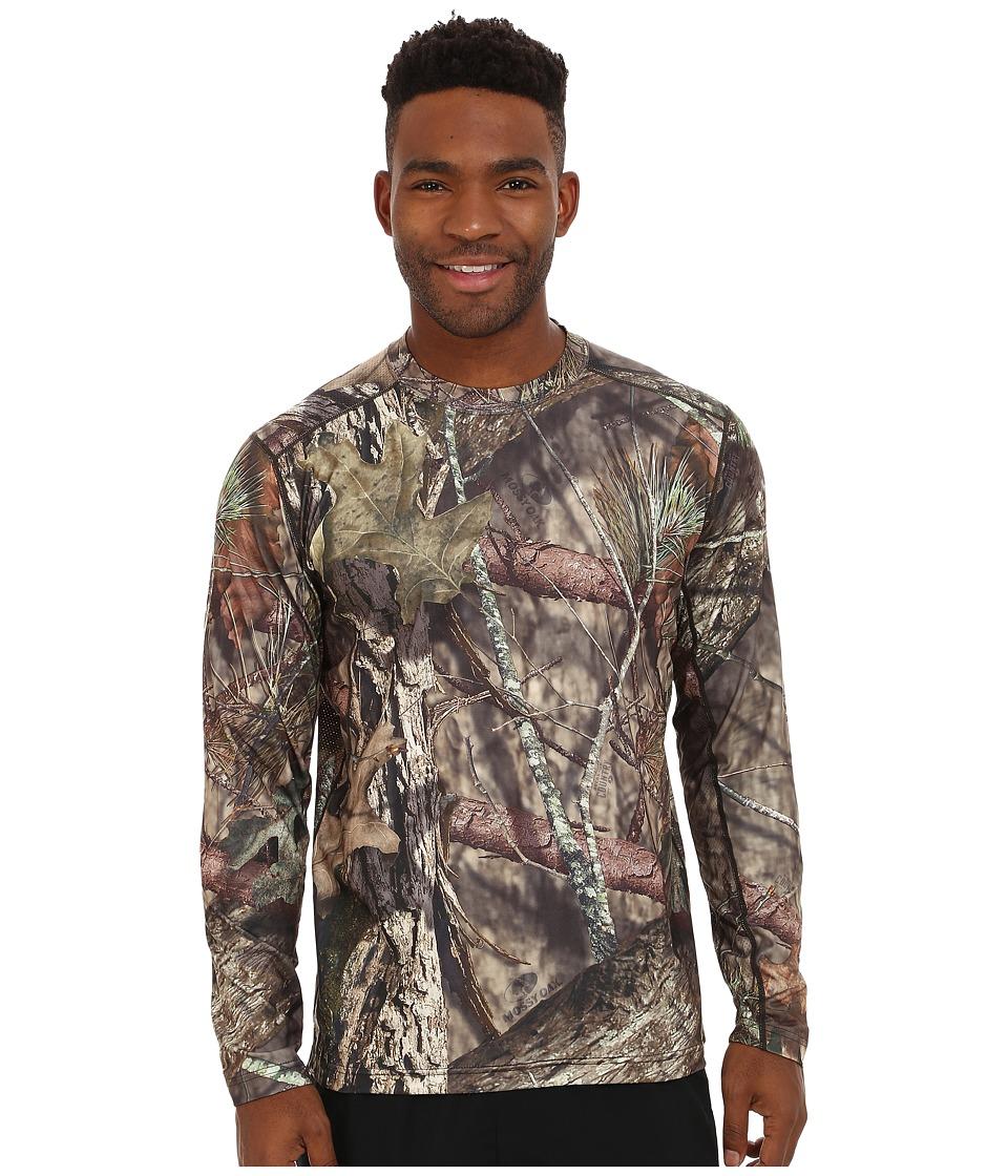 Terramar - 2.0 Stalker Long Sleeve Crew (Mossy Oak Break-Up Country) Men's Long Sleeve Pullover