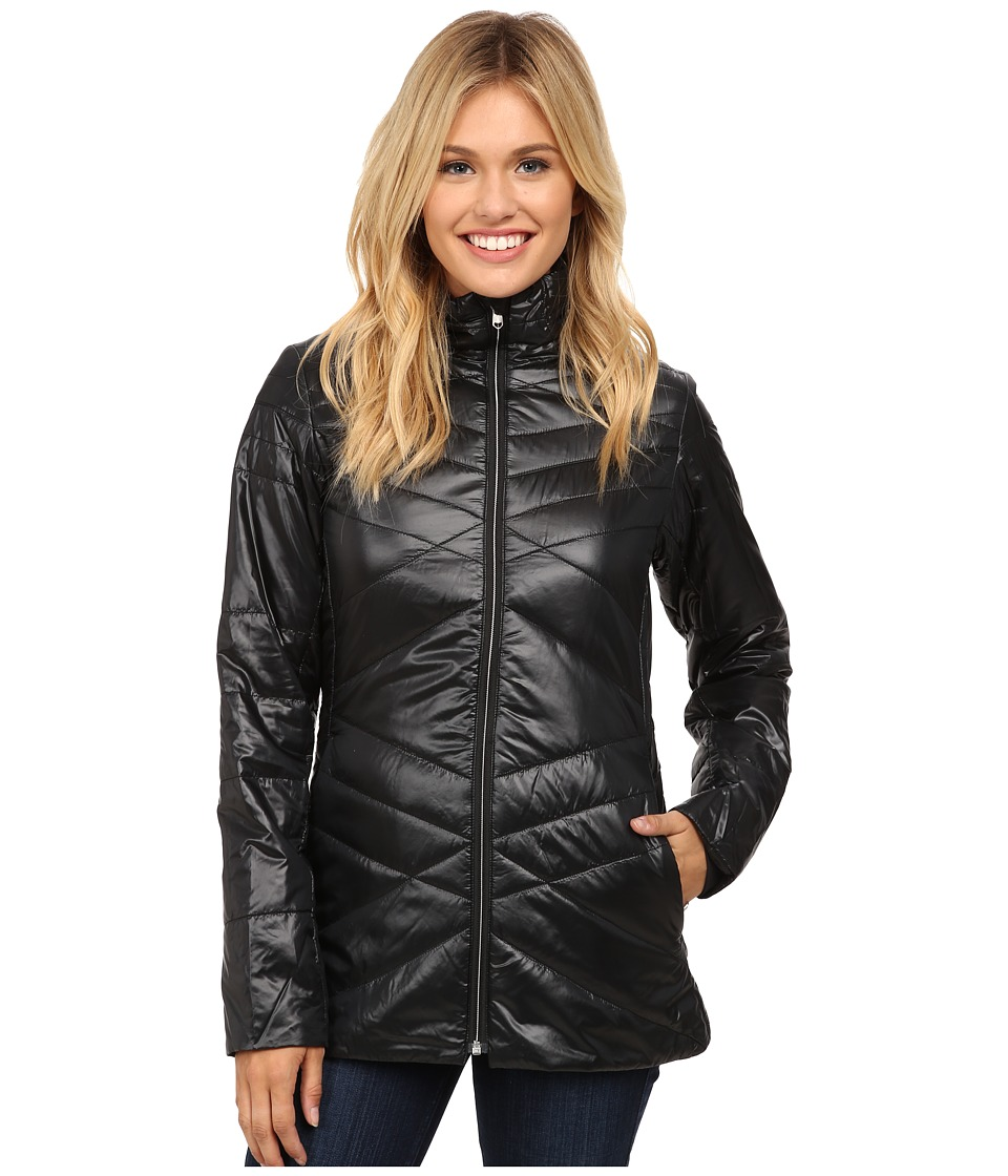 Spyder - Curve Long Insulator Jacket (Black/Silver) Women