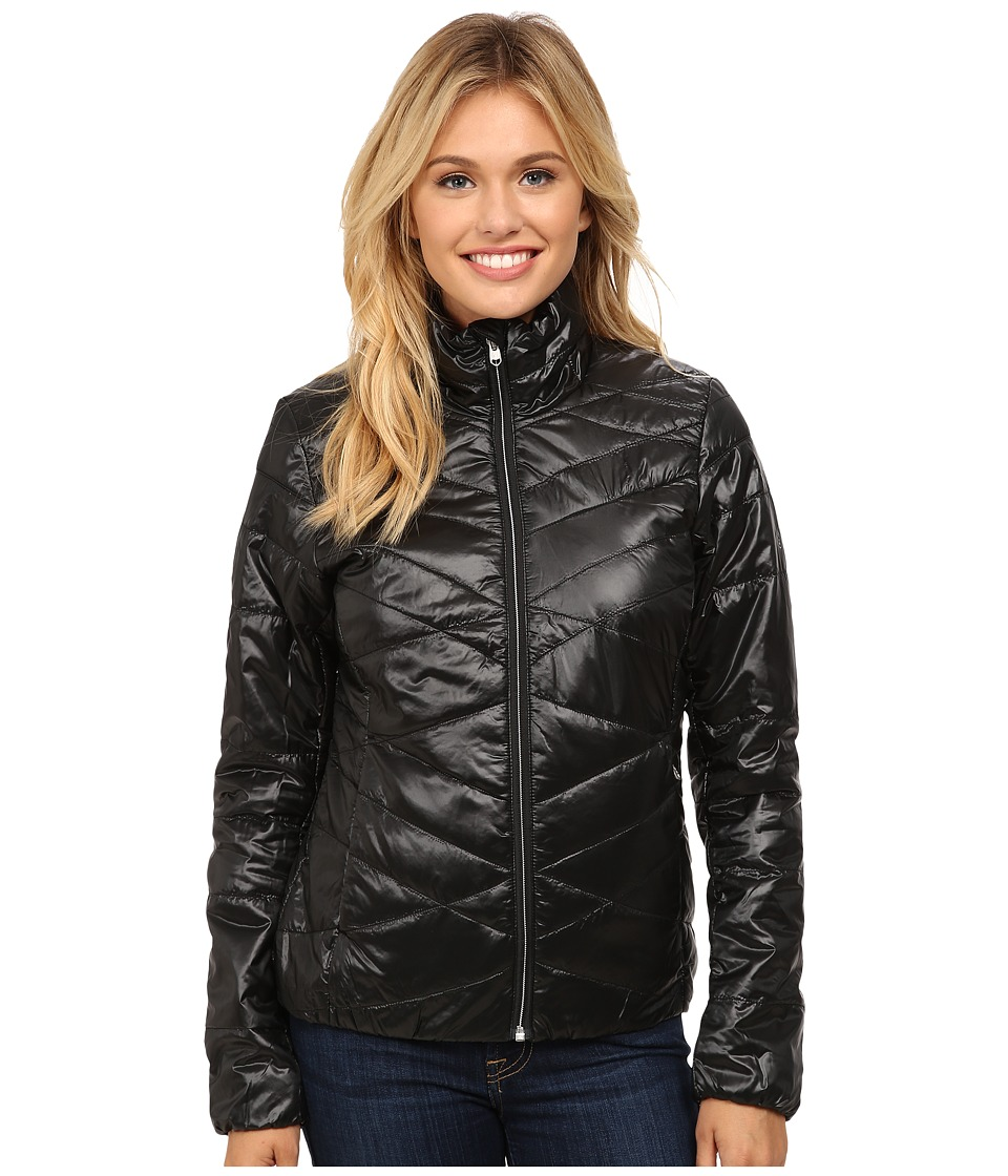 Spyder - Curve Insulator Jacket (Black/Silver) Women's Coat