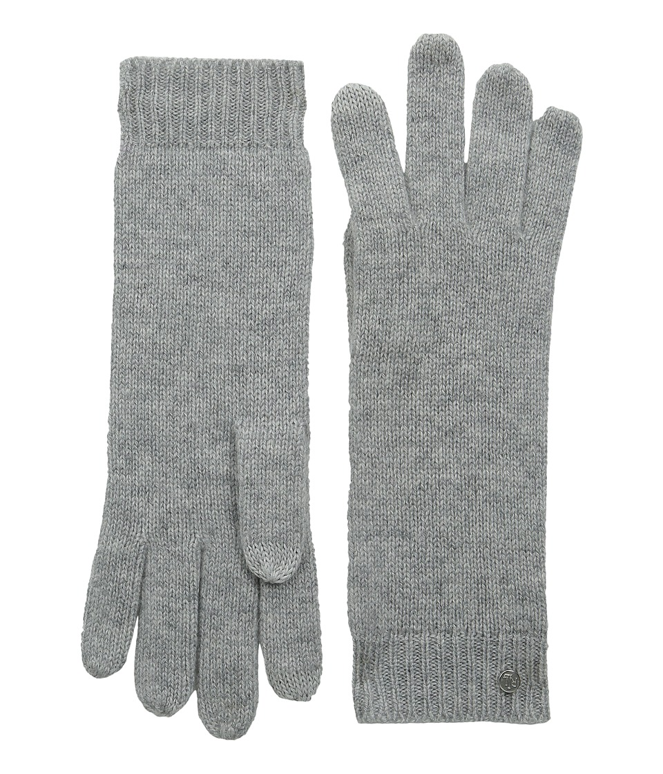 LAUREN Ralph Lauren - Cashmere Luxury Touch Glove (Fawn Grey Heather) Dress Gloves