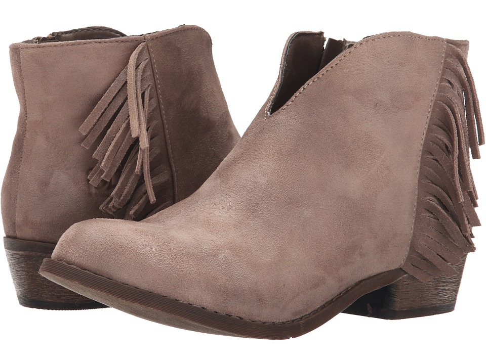 Dirty Laundry - Chitchat (Taupe) Women's Zip Boots