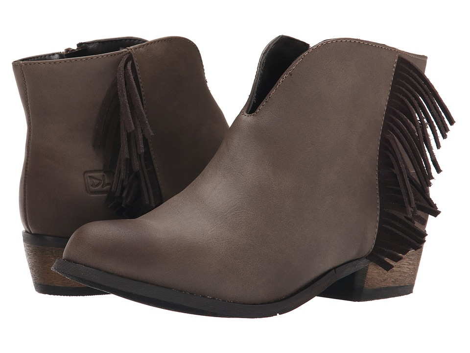 Dirty Laundry - Chitchat (Dark Grey) Women's Zip Boots