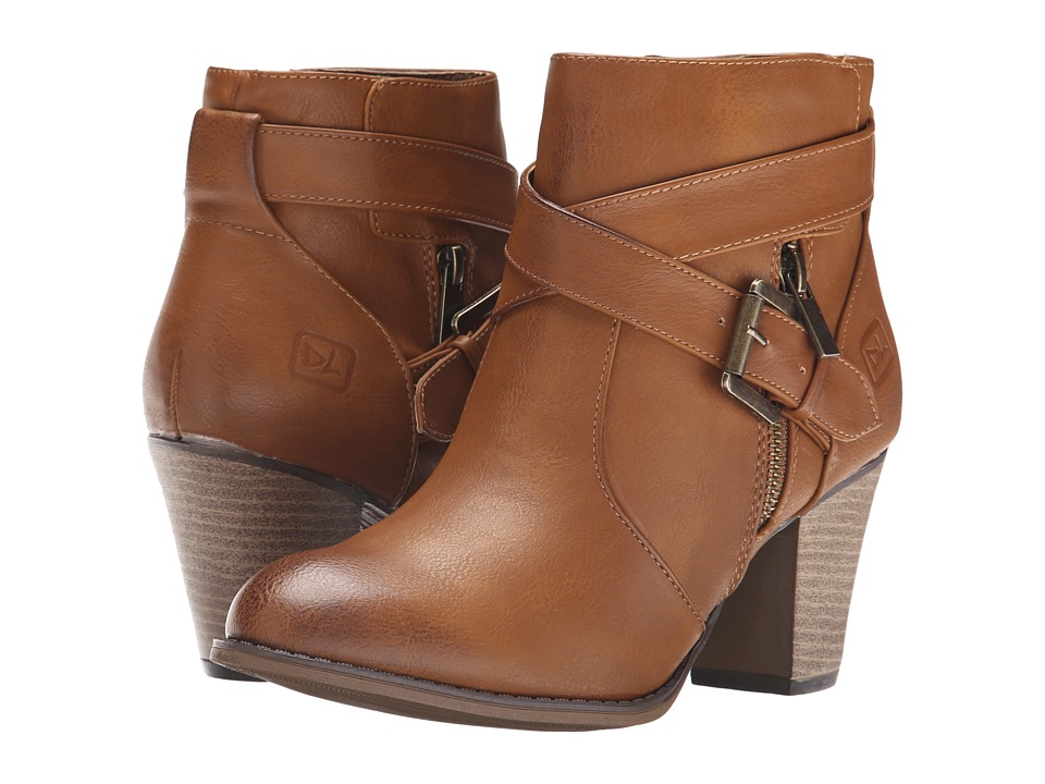 Dirty Laundry - Dallas (Cognac) Women's Zip Boots
