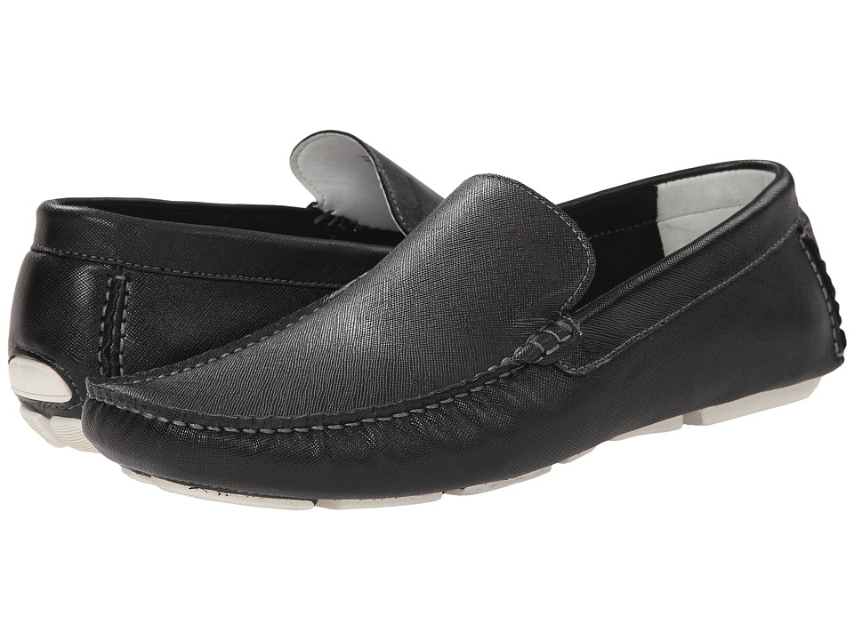 Kenneth Cole Reaction - Take Care (Black 1) Men's Slip on Shoes