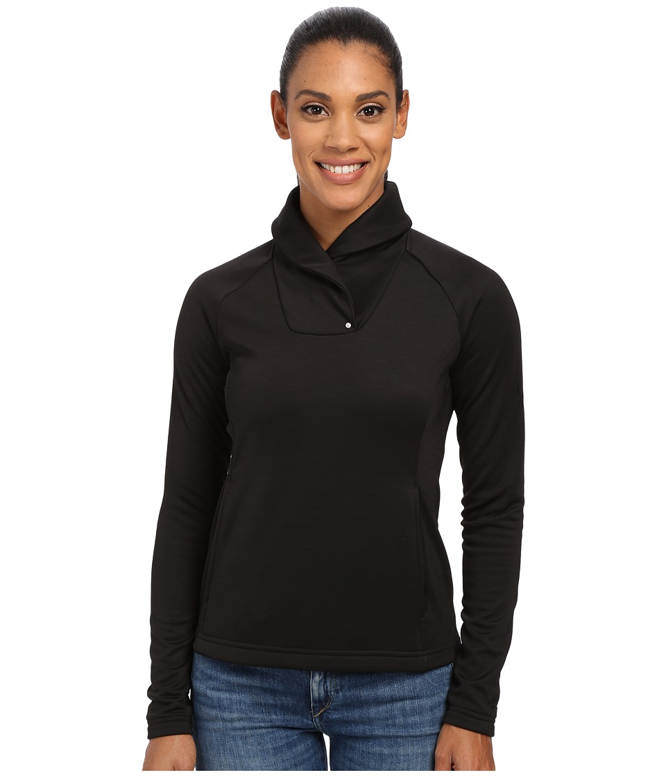 Spyder - Manta Fleece Top (Black) Women