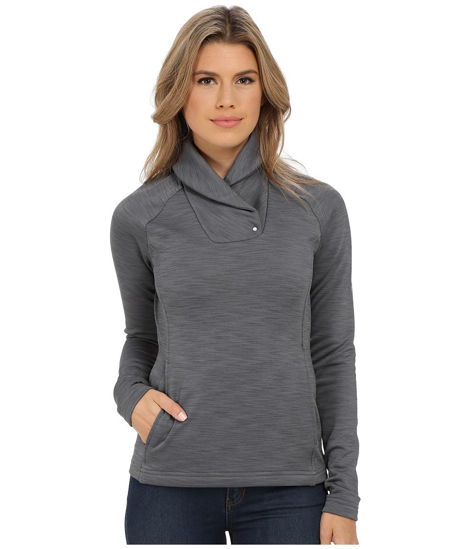 Spyder - Manta Fleece Top (Image Gray) Women's Long Sleeve Pullover