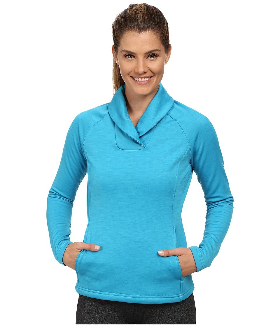 Spyder - Manta Fleece Top (Riviera) Women's Long Sleeve Pullover