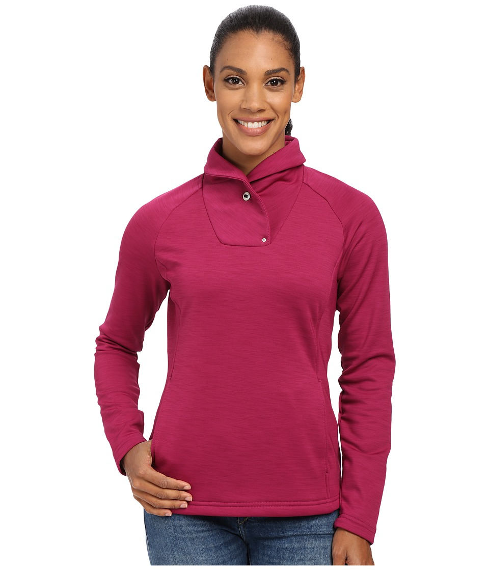 Spyder - Manta Fleece Top (Wild) Women's Long Sleeve Pullover