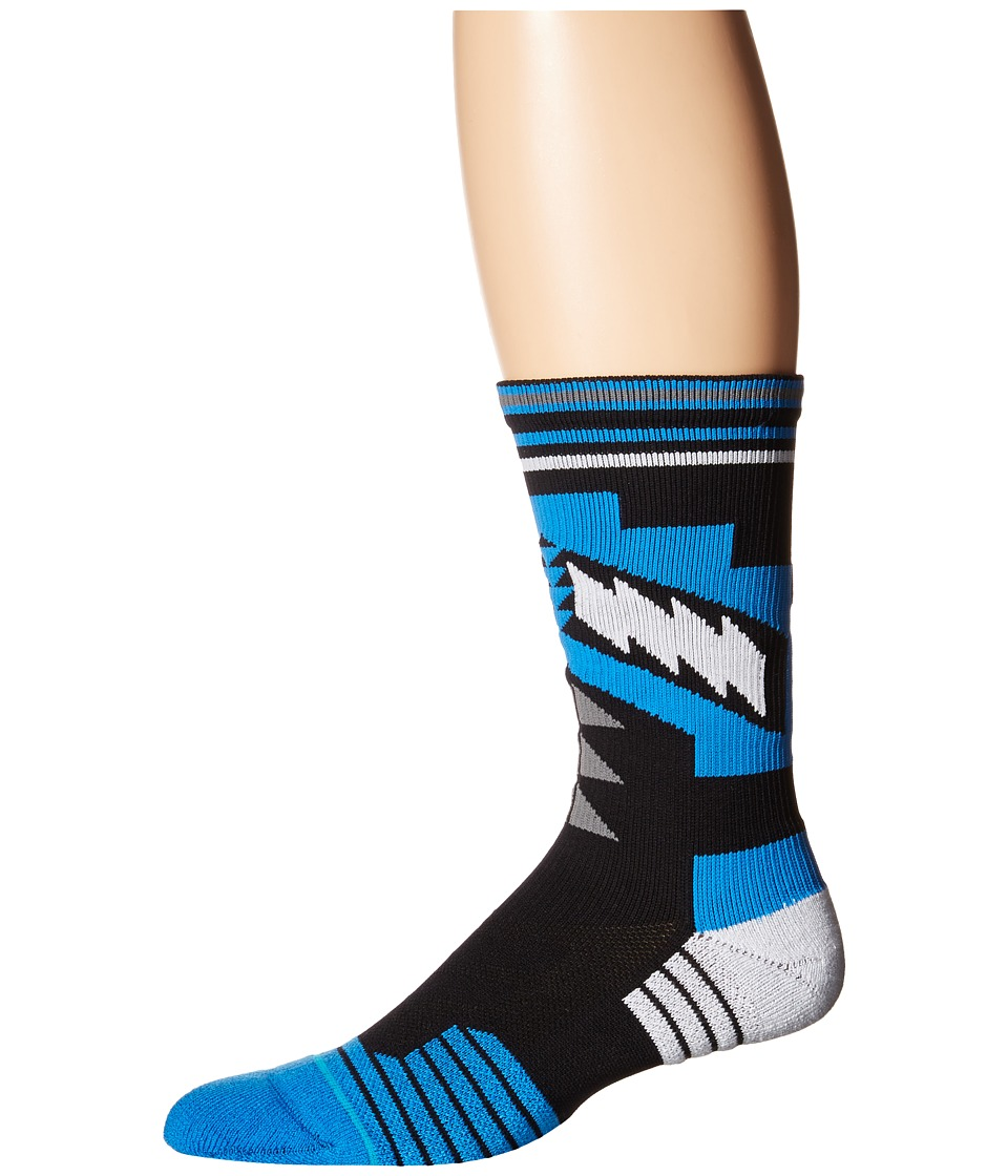 Stance - Hino (Blue) Men's Crew Cut Socks Shoes