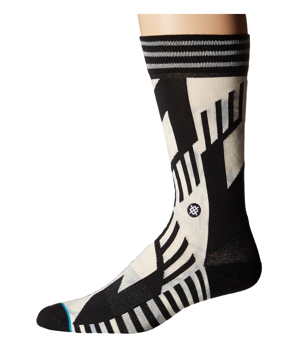 Stance - Killicker (Black) Men's Crew Cut Socks Shoes