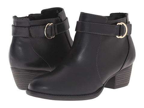 Dr. Scholl's - Juniper (Black) Women's Zip Boots