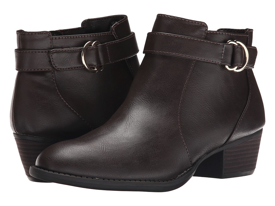 Dr. Scholl's - Juniper (Dark Brown) Women's Zip Boots