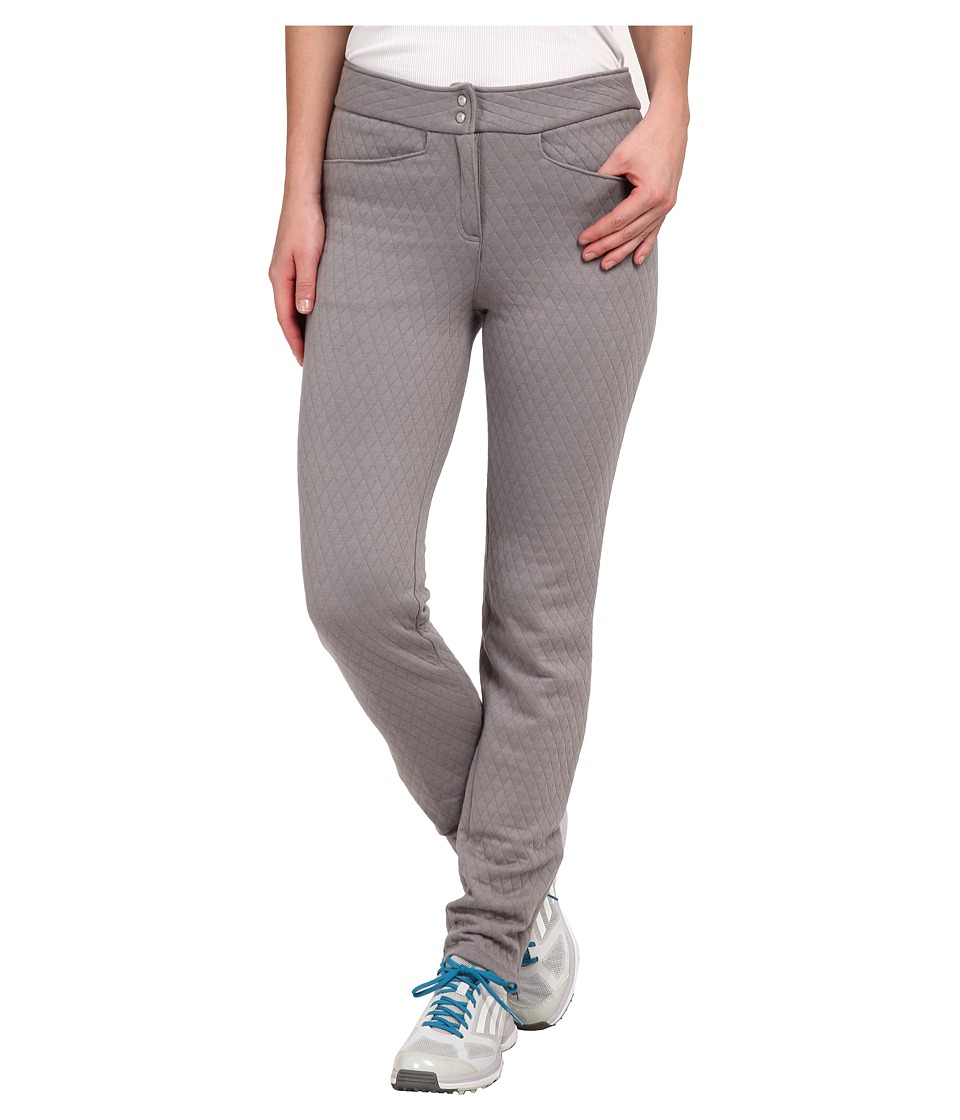 adidas Golf - Advance Quilted Pants (Charcoal Solid Grey) Women's Casual Pants